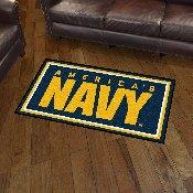U.S. Navy 3x5 Rug