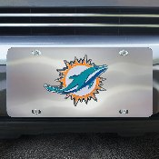 NFL - Miami Dolphins Diecast License Plate 12X6