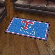 Louisiana Tech University 3x5 Rug