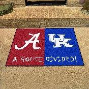 House Divided - Alabama/Kentucky Mat 33.75