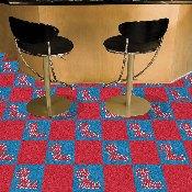 University of Mississippi (Ole Miss) Team Carpet Tiles 18