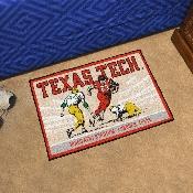 Texas Tech University Starter Mat - Ticket 19