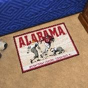 University of Alabama Starter Mat - Ticket 19