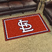 MLB - St. Louis Cardinals 4x6 Rug 44