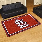 MLB - St. Louis Cardinals 5x8 Rug 59.5