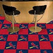 MLB - St. Louis Cardinals Team Carpet Tiles 18