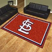 MLB - St. Louis Cardinals 8x10 Rug 87
