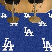 Los Angeles Dodgers Team Carpet Tiles - 18
