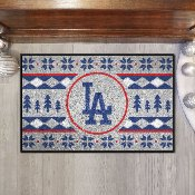 Los Angeles Dodgers Holiday Sweater Starter Mat - 19