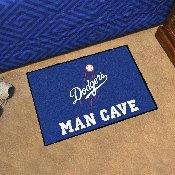 Los Angeles Dodgers Man Cave Starter - 19