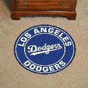 Los Angeles Dodgers Roundel Mat - 27