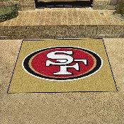 NFL - San Francisco 49ers All-Star Mat 33.75