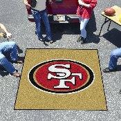 NFL - San Francisco 49ers Tailgater Mat 59.5