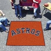 Houston Astros Tailgater Mat - 59.5