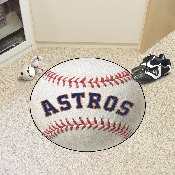 Houston Astros Baseball Mat - 27