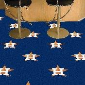 Houston Astros Team Carpet Tiles - 18