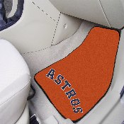 Houston Astros 2-pc Carpet Car Mat Set - 17