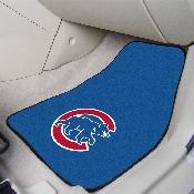 Chicago Cubs 2-pc Carpet Car Mat Set - 17