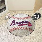 Atlanta Braves Baseball Mat - 27
