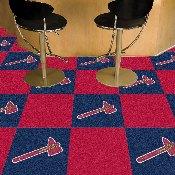 Atlanta Braves Team Carpet Tiles - 18