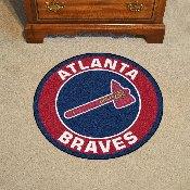 Atlanta Braves Roundel Mat - 27