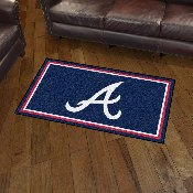 Atlanta Braves Rug