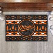 Baltimore Orioles Holiday Sweater Starter Mat - 19