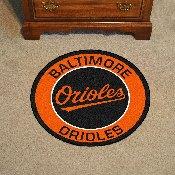 "Baltimore Orioles Roundel Mat - 27"" diameter"