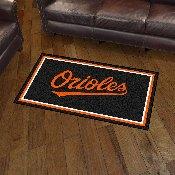 Baltimore Orioles 3x5 Rug - 36