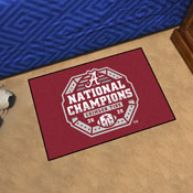 University of Alabama 2020-21 National Champions Starter Mat 19