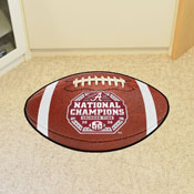 University of Alabama 2020-21 National Champions Football Mat 20.5