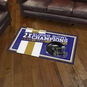 Baltimore Ravens Dynasty Rug