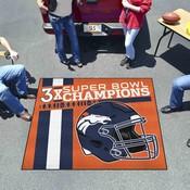 Denver Broncos Dynasty Tailgater Mat 59.5