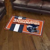 Denver Broncos Dynasty Rug
