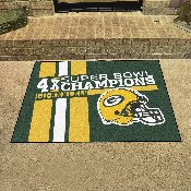 Green Bay Packers Dynasty All-Star Mat 33.75