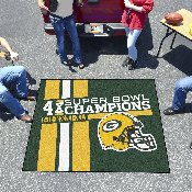Green Bay Packers Dynasty Tailgater Mat 59.5