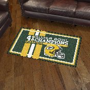 Green Bay Packers Dynasty Rug