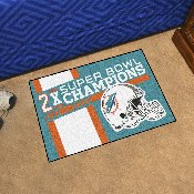 Miami Dolphins Dynasty Starter Mat 19