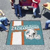 Miami Dolphins Dynasty Tailgater Mat 59.5