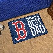 Boston Red Sox Starter Mat - World's Best Dad - 19