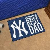 New York Yankees Starter Mat - World's Best Dad - 19