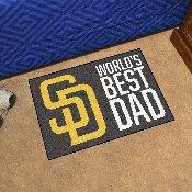 San Diego Padres Starter Mat - World's Best Dad - 19