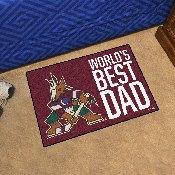 Arizona Coyotes Starter Mat - World's Best Dad - 19
