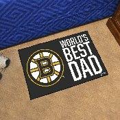 Boston Bruins Starter Mat - World's Best Dad - 19