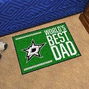 Dallas Stars Starter Mat - World's Best Dad - 19