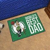 Boston Celtics Starter Mat - World's Best Dad - 19