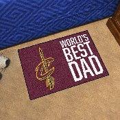 Cleveland Cavaliers Starter Mat - World's Best Dad - 19