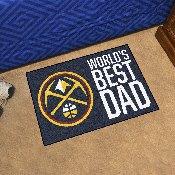 Denver Nuggets Starter Mat - World's Best Dad - 19