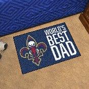 New Orleans Pelicans Starter Mat - World's Best Dad - 19