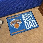 New York Knicks Starter Mat - World's Best Dad - 19
